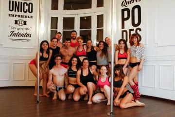 """Inauguramos con Manuel Coggiola los """"Jueves de Hombres"""" del pole dance"""