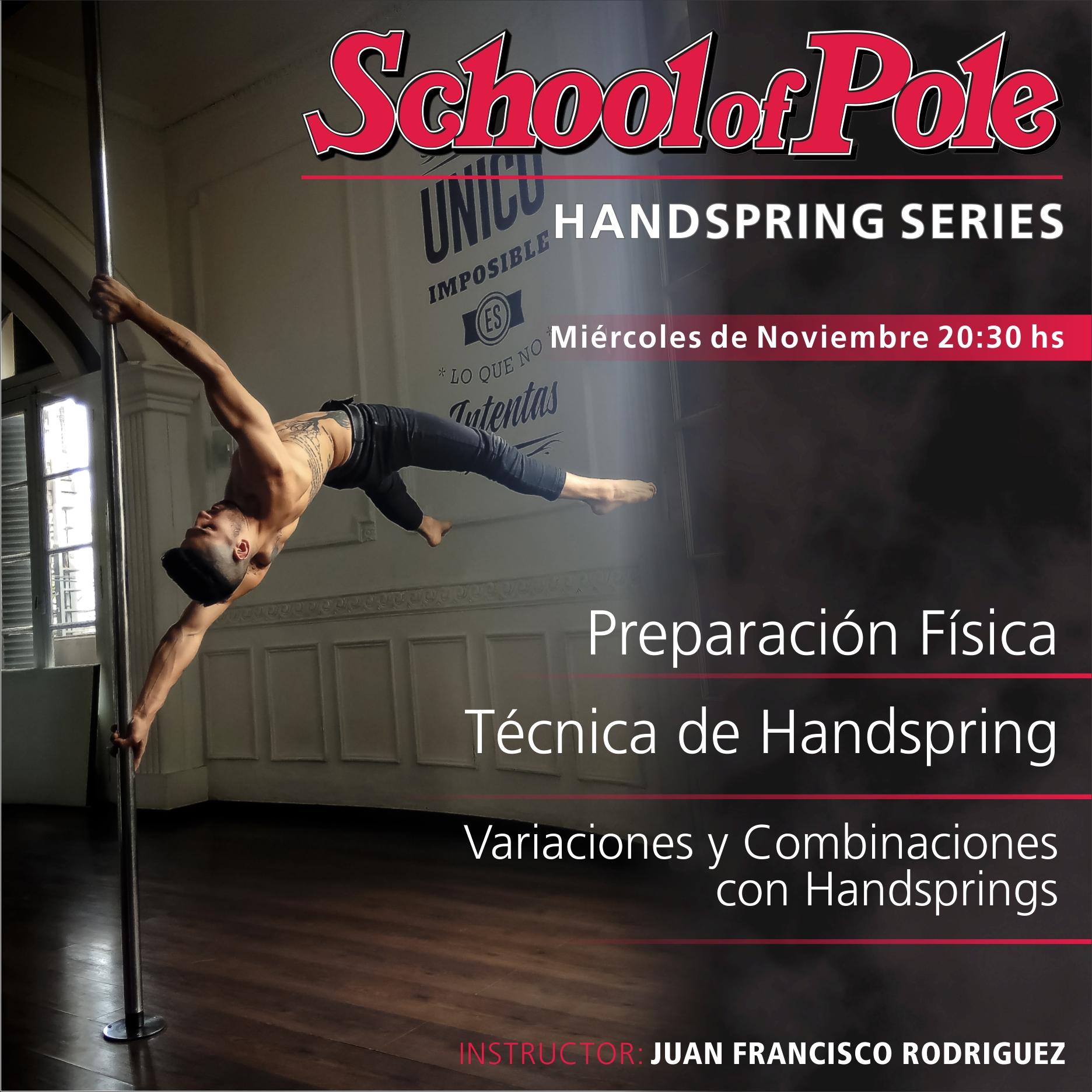 Handspring Series con Juan Francisco Rodriguez